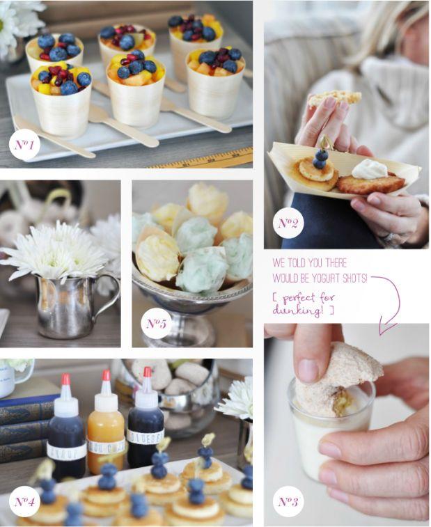 : Minis Pancakes, Breakfast Buffet, Fruit Cups, Brunch Parties, Minis Breakfast Food, Parties Ideas, Buffet Ideas, Breakfast Brunch, Breakfast Parties
