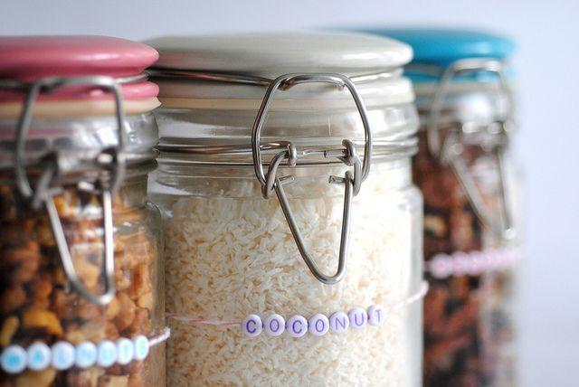 Coconut bead label by Torie Jayne