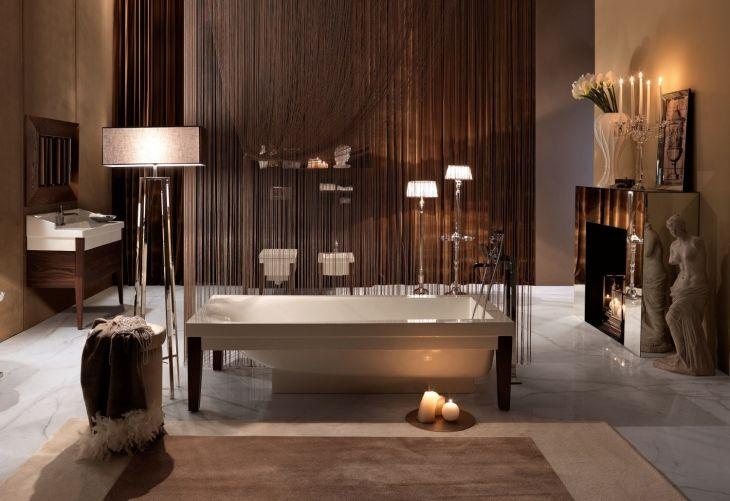 ZMYSŁOWA KĄPIEL WE WNĘTRZU ELEGANCKIEJ ŁAZIENKI / elegant bathroom