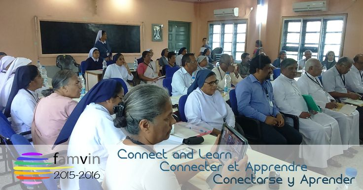 Vincentian Family in India: Connect and Learn! #YVC2015 #ConnectLearnYVC