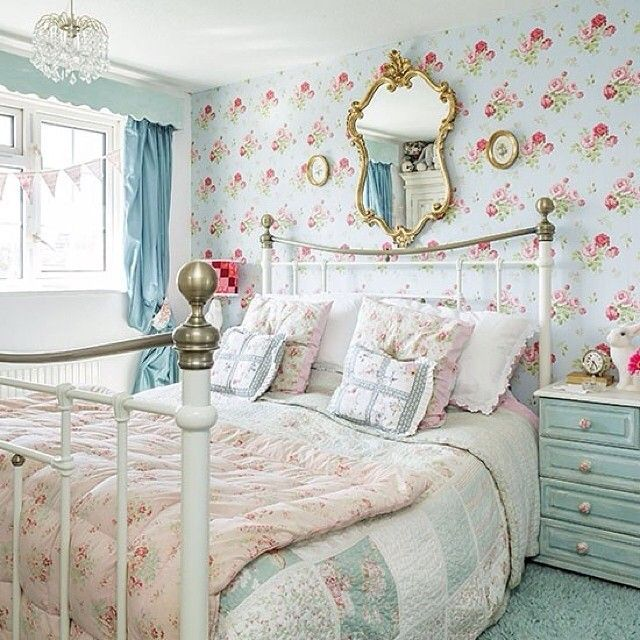 Shabby Chic Bedroom Ideas: 977 Best Shabby Chic Bedrooms Images On Pinterest