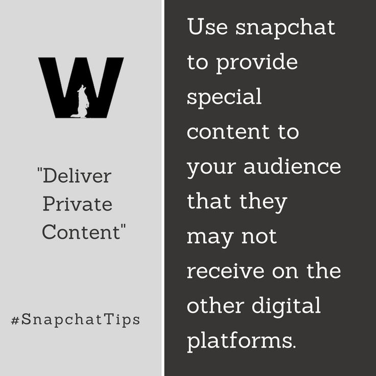 Show how your brand differentiates itself with company culture. #Snapchat #MarketingTips