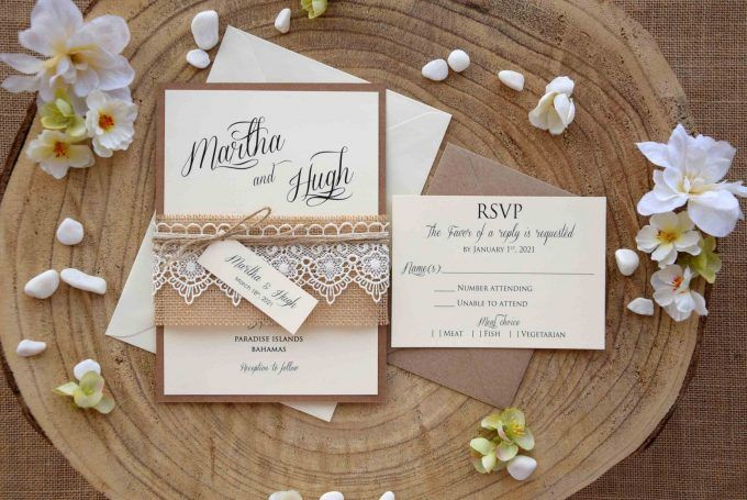 40 Most Creative Wedding Invitations 2020 Photos With Images Wedding Invitation Kits Creative Wedding Invitations Burlap Wedding Invitations