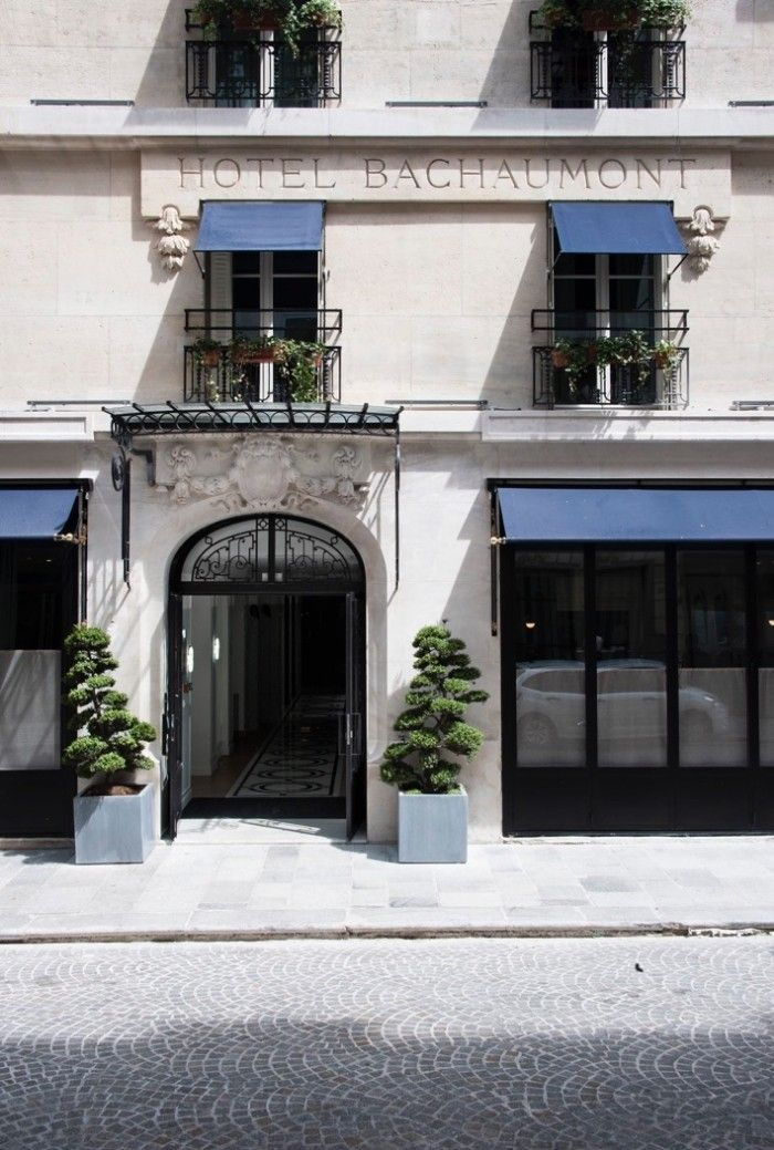 Hotel Bachaumont in Paris designed by Dorothee Meilichzon | Remodelista