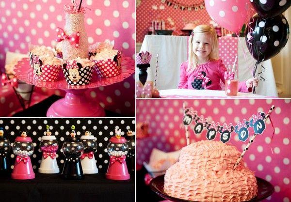 День рождения в стиле Микки Маус: оформление. Фото с сайта http://www.karaspartyideas.com