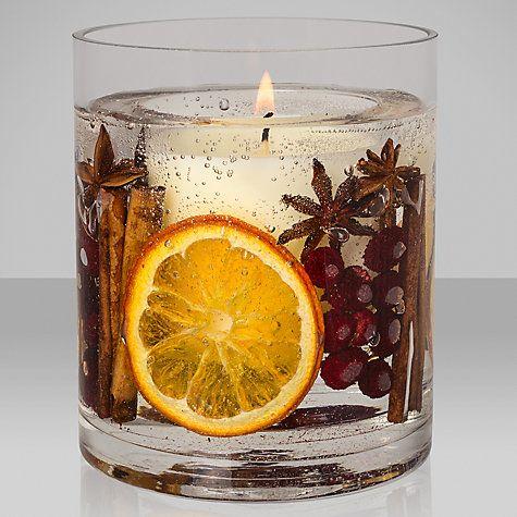 Buy John Lewis Winter Spice Large Gel Candle Online at johnlewis.com