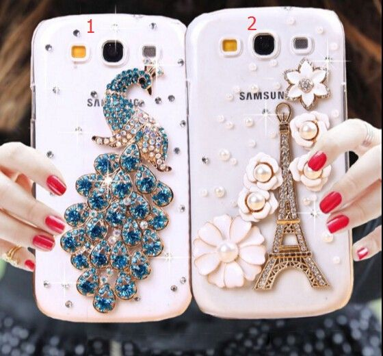 , Bling Crystal Cover for Samsung Galaxy A8 A5 A7 J1 J5 J7 : ^Cases ...