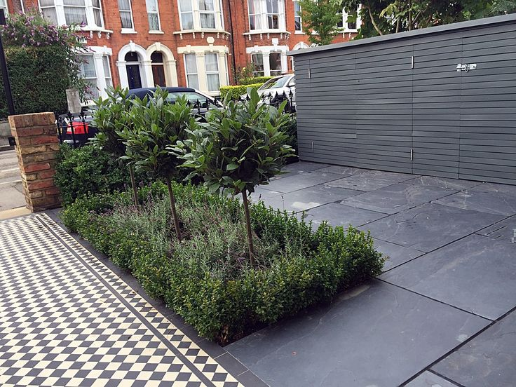 slate paving bespoke storage grey colour scheme victorian mosaic london clapham