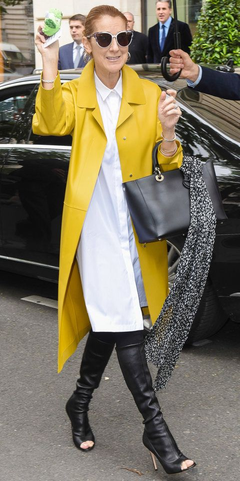 Never before has Celine Dion turned as many heads as she does now. The singer has continuously wowed in designer frocks on the street and the red carpet. See her recent standout looks and find out what separates her from the rest.