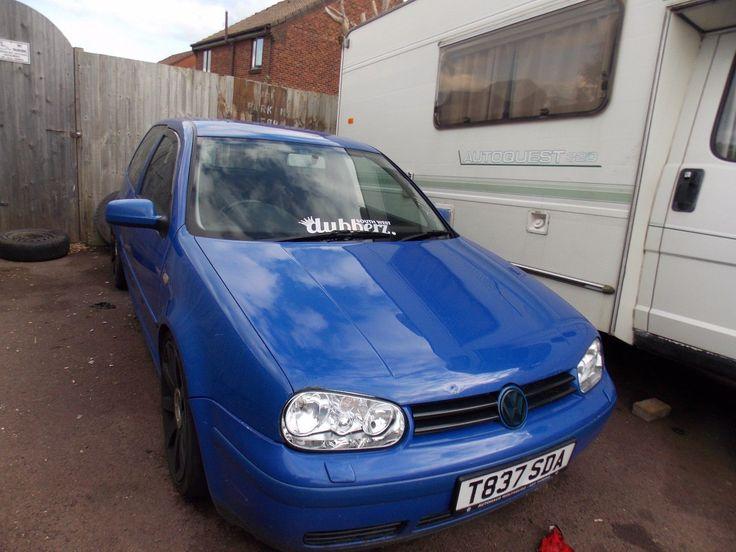 eBay: VW GOLF GT TDI 1.9 1999 BLUE