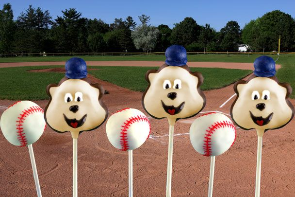 Minnesota Twins Cake Pops #minnesota #twins #cakepop