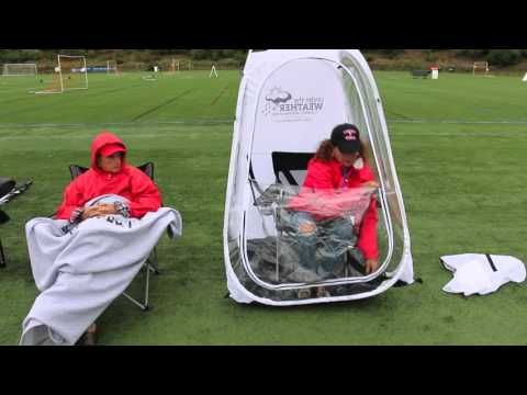 Anthem Sports Under the Weather Personal Sport Pod Pop-Up Tent - YouTube