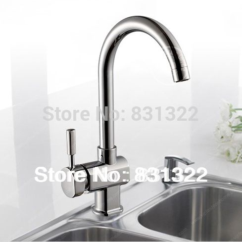 Free shipping swan leading hot and cold kitchen faucet single handle single hole kitchen tap 360 rotate Kitchen faucets BR-9114 kitchen countertop -- AliExpress Affiliate's Pin. Find similar products by clicking the VISIT button