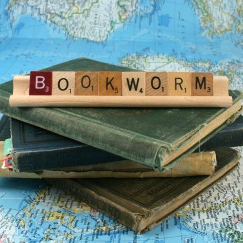 bookworm: Libraries, Book Worms, Book Lovers, Reading, Book Nerd, Scrabble Tile, Bookworm, Recycle Book, Scrabble Letters