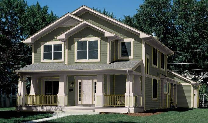 17 best images about house exterior paint ideas on - Green exterior house color ideas ...