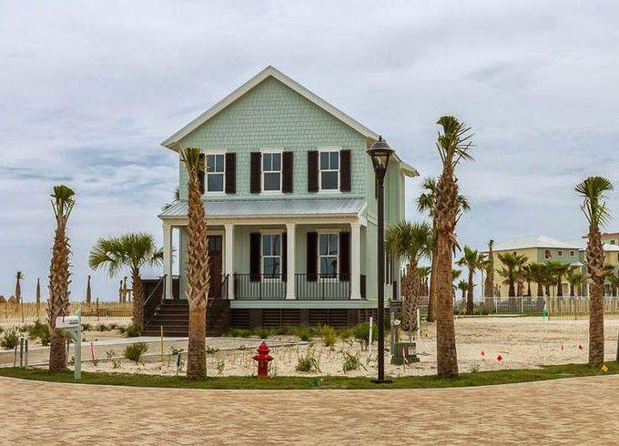 House of Turquoise: Pat O'Neal Interiors | Beautiful Beach House