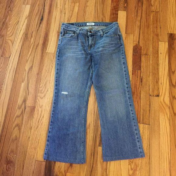 "American Eagle Jeans American Eagle jeans, length 25"". American Eagle Jeans Straight Leg"