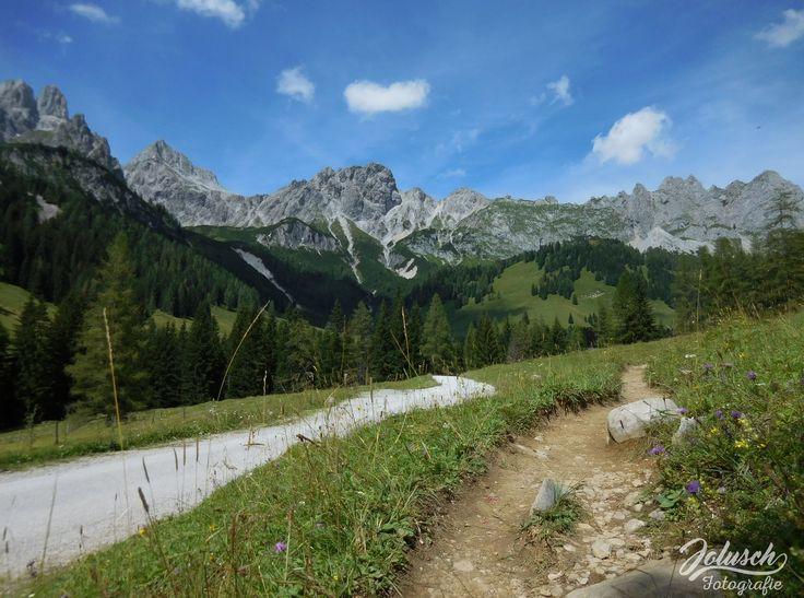 Oostenrijks bergpad