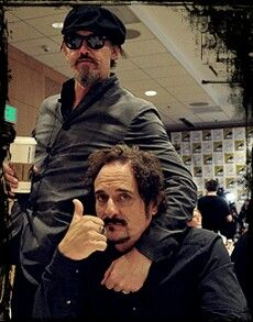Tommy Flanagan and Kim Coates, they're a little older than most chicks my age like... But I'm totally more attracted to them than most of the younger actors. #NoShame