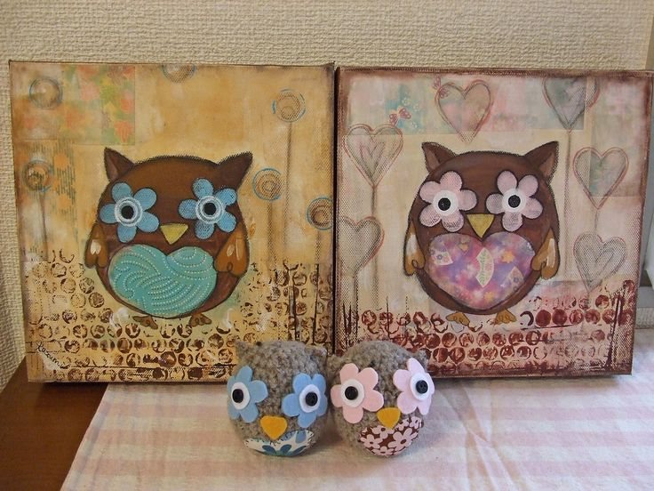 Owls & Paintings