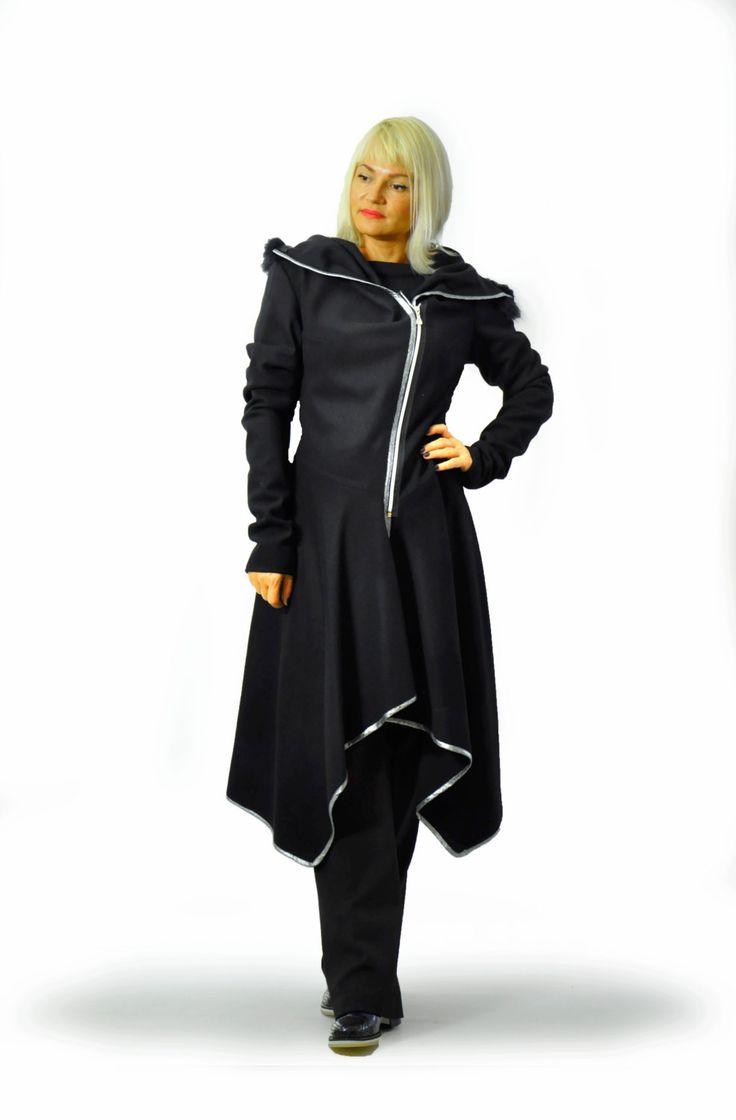 1000  ideas about Black Wool Coat on Pinterest | Black coats