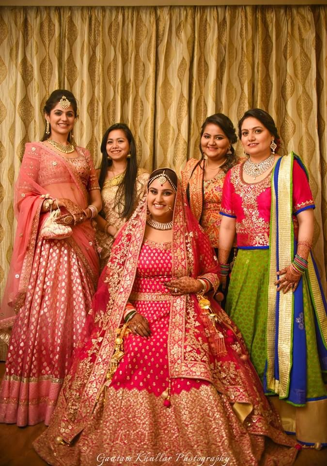 fc407843f2 How To Look Amazing On Your Wedding Day If You Are A Plus Size Bride | a | Plus  size brides, Indian bride dresses, Plus size lehenga