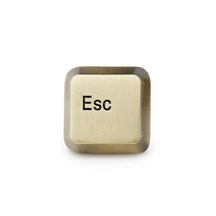 Esc Key Pin – Mean Folk