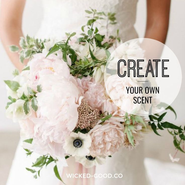 Still searching for the perfect bridal fragrance for your big day? Let our Wicked Good perfume expert, Cheri, create the perfect wedding-worthy scent for you or your bride.   Let's get busy and create your dream fragrance!  First, I will send you a brand interview. Fill it out and from there I