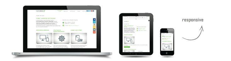 Redesign unserer eigenen Website im Responsive Webdesign. Strategische Konzeption, Grafik-Design und Web-Entwicklung.  www.symbol7-marketing.de  #responsivewebdesign #mobiloptimiert #responsivedesign #webdesign