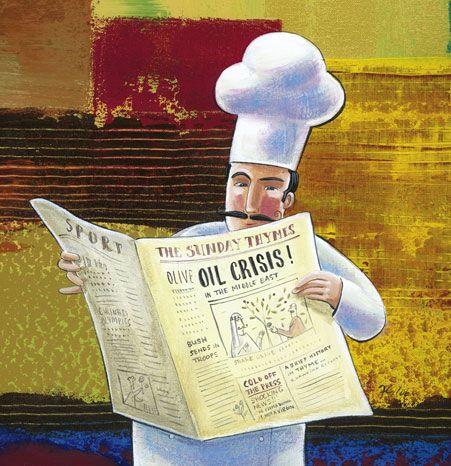Chef Prints | Frans Groenewald | Blind Tasting, Groot Trek, Bubble Bath