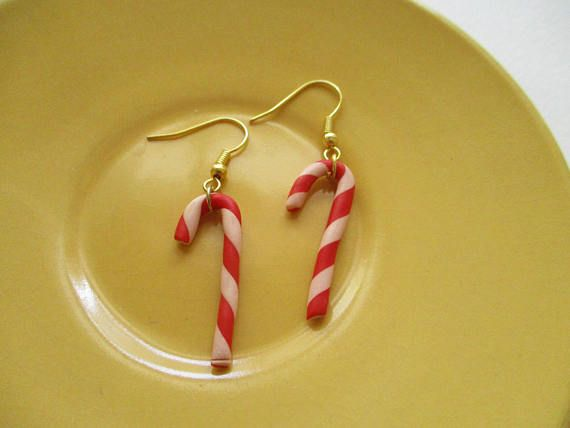 candy cane earrings Christmas earringsChristmas gifts candy