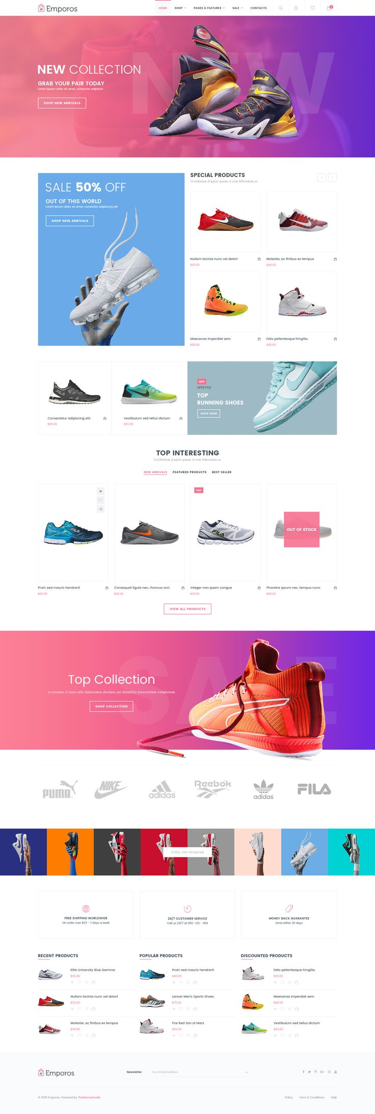 Build your store with Emporos – Responsive #WooCommerce #Theme,60+ Fully Customi…