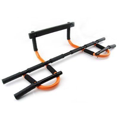 Astone Fitness - Complete Chin Up Bar | Pull Up Bar | Door Attachment Chin Up Bar. Ergonomic grips that won't slip or soak up sweat. Allows for wide grip pull ups / lats. Easy to assemble, high grade quality metal. Supports up to 300 lbs. Wall mounting Hardware provided for securing to a wall or door.