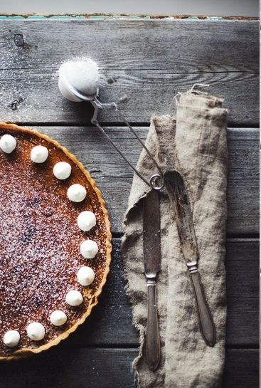 Sweet Potato Pie via Helena Ljunggren