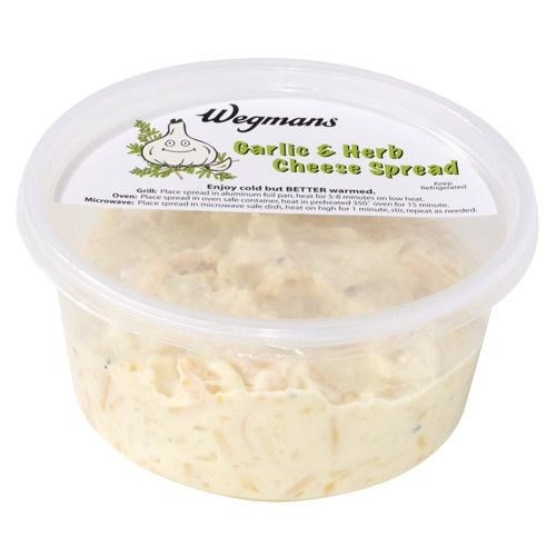 Wegmans Garlic and Herb Cheese Spread - this is AMAZING!!!