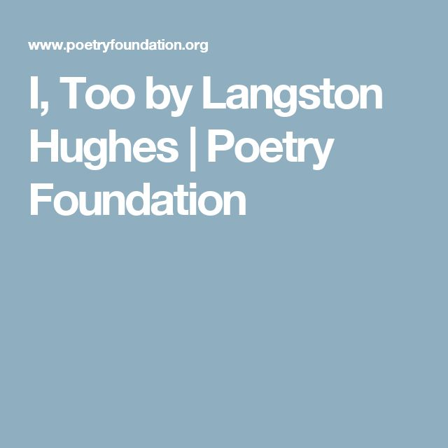 an analysis of the poems by langston hughes Analysis of poetry 'homecoming' by langston hughes homecoming (1959, by langston hughes (1902-1967)) i went back in the alley and i opened up my door all her clothes was gone: she wasn't home no more i pulled back the covers, i made down the bed a whole lot of room was the only thing i had 1 the tone of this.