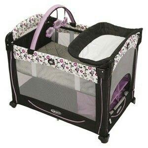 Baby Playpen In Purple Baby Stuff