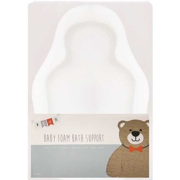 Baby Foam Bath Support Bathing Sponge Cleaning Soft Body Support Safety Mat Aid