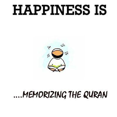 Memorizing Quran...
