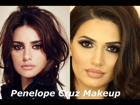 Penelope Cruz inspired Makeup tutorial by Makeup by Ani - YouTube