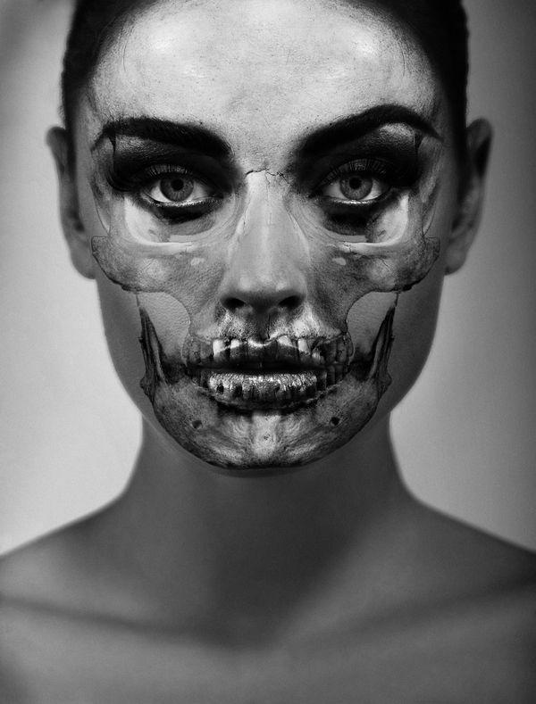 ber ideen zu skelett make up auf pinterest halloween make up totenkopf make up und. Black Bedroom Furniture Sets. Home Design Ideas