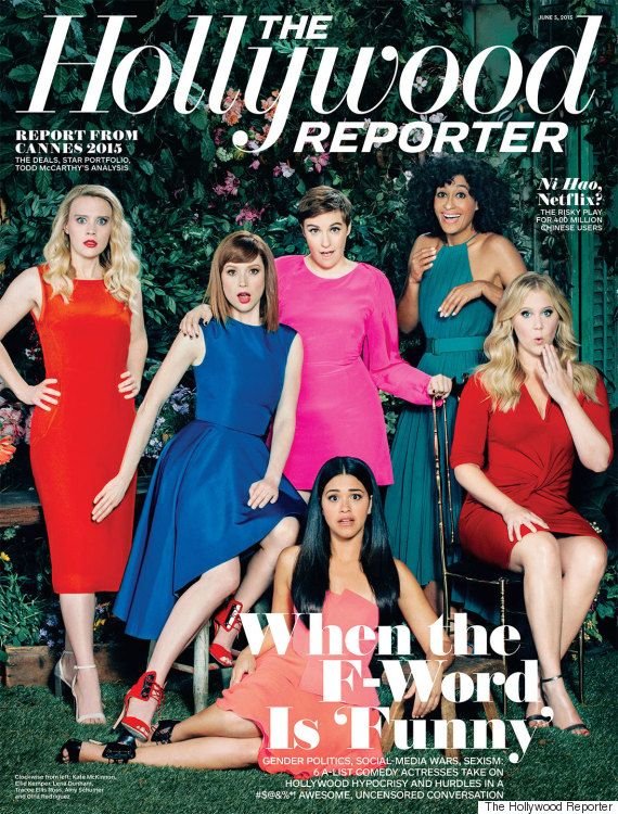 Amy Schumer, Lena Dunham, Tracee Ellis Ross, Ellie Kemper, Gina Rodriguez  and