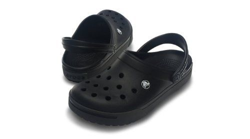 Crocs - Crocband II Unisex Footwear, Size: 10 D(M) US Mens / 12 B(M) US Womens, Color: Black/Graphite crocs. $40.00. synthetic-and-rubber