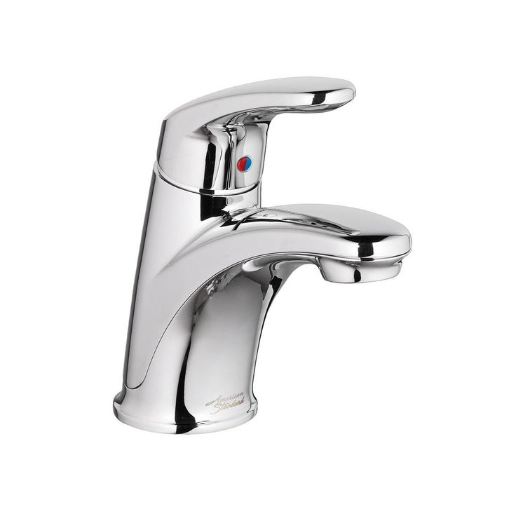 American Standard Colony Pro Single Hole Single-Handle Bathroom Faucet with Pop-Up Drain in Polished Chrome