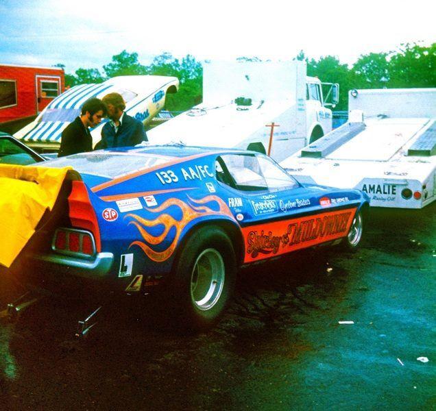 "Vintage Drag Racing - Funny Car - Shirley ""Cha Cha"" Muldowney *"