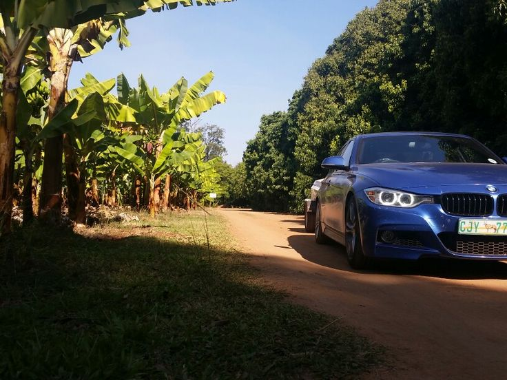 Bmw f30 @ Garden of Eden, South Africa