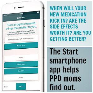 Start App postpartum depression