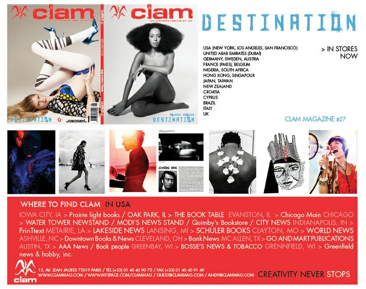 To find Clam in USA !!