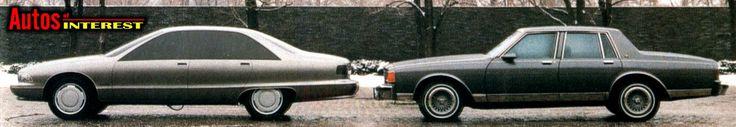 1991 Chevrolet Caprice prototype