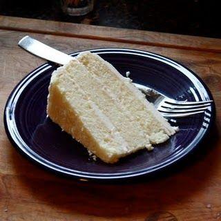 white chocolate amaretto cake.